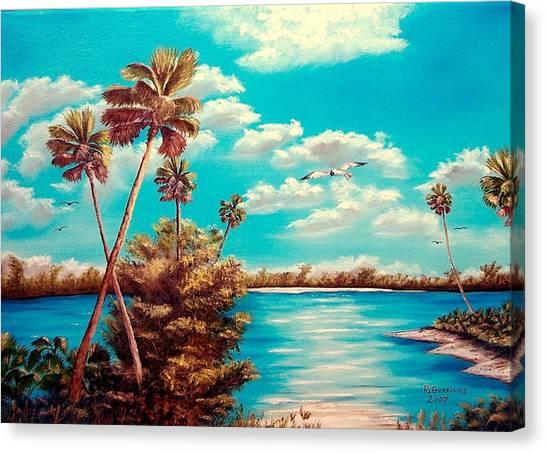 Florida Hideaway Canvas Print by Riley Geddings