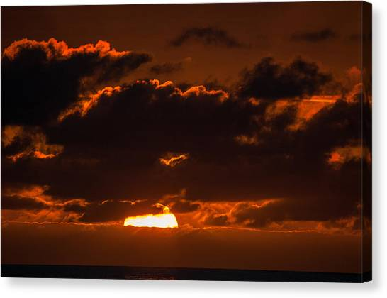 Florida Keys Sunrise Canvas Print