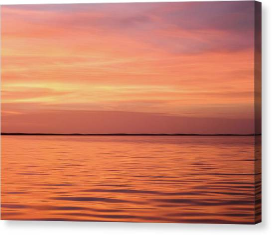 Florida Keys Sunset Impressions Canvas Print