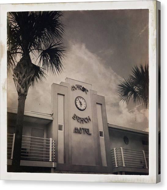 Florida Canvas Print - #florida #monochromatic #travel by Mauricio Jimenez