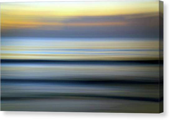 Florida Ocean Wave Abstract Canvas Print