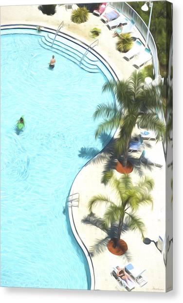 Florida Pool 33 Canvas Print