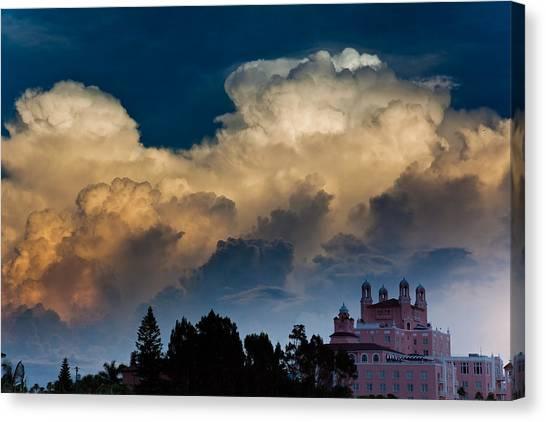 Florida Skies Canvas Print by Patrick  Flynn