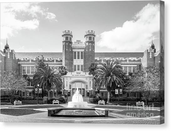 Florida State Fsu Canvas Print - Florida State University Westcott Building by University Icons