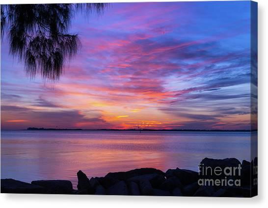 Florida Sunset #2 Canvas Print