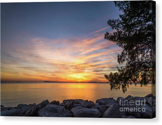 Florida Sunset #3 Canvas Print