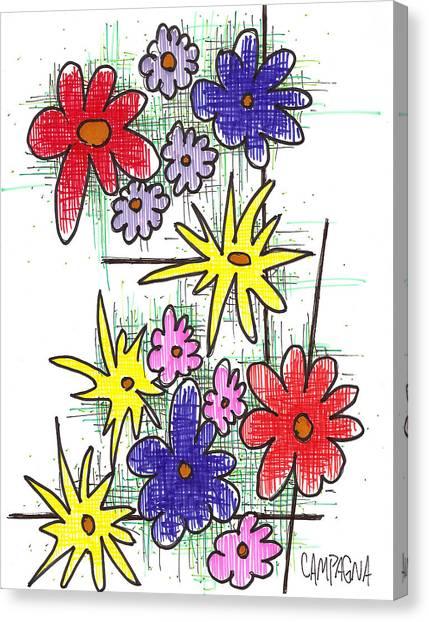 Florists Dozen Canvas Print
