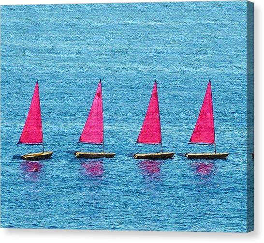 Flotilla Canvas Print by John Bradburn