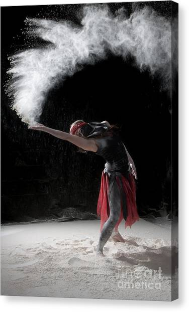 Flour Dancing Series Canvas Print