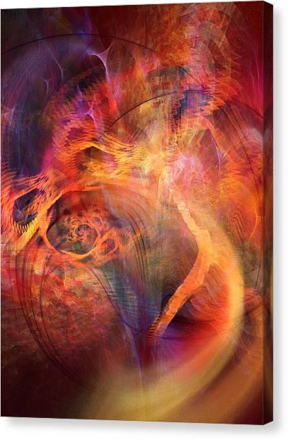 Flow 2 Canvas Print