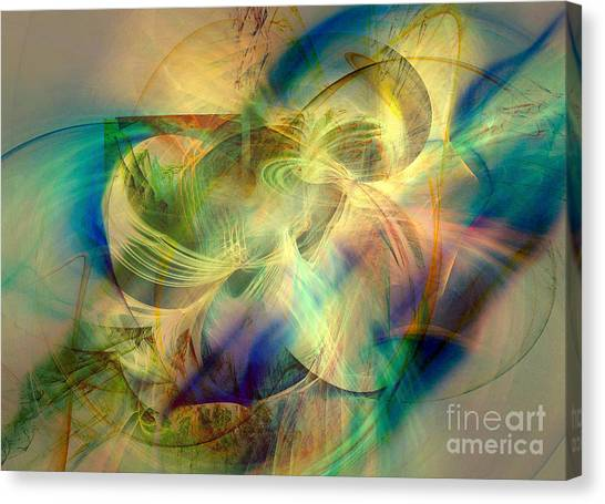 Flow 3 Canvas Print