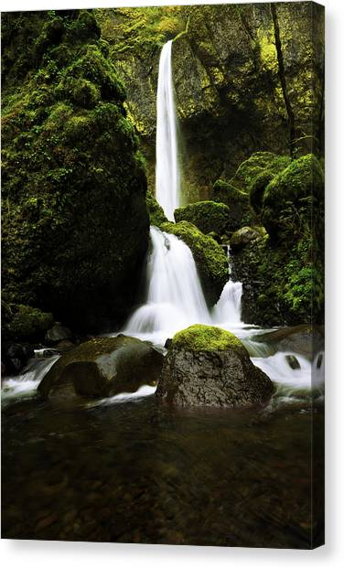 Waterfalls Canvas Print - Flow by Chad Dutson