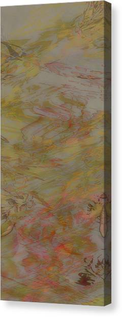 Flow Improvement In The Fog Canvas Print