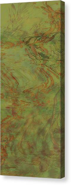 Flow Improvement In The Grass Canvas Print