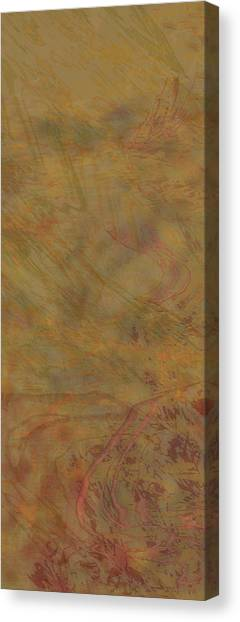 Flow Improvement In The Sand Canvas Print