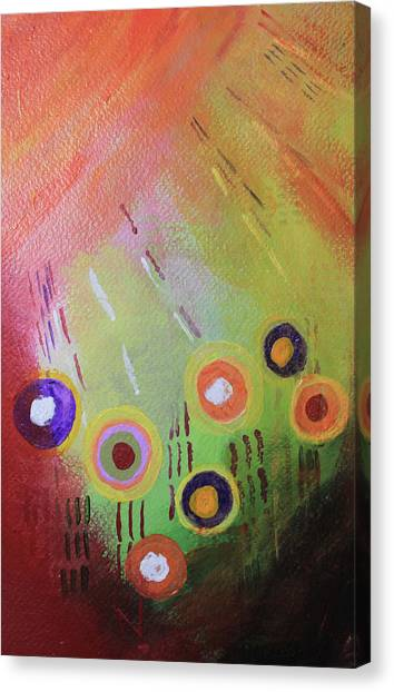Flower 1 Abstract Canvas Print