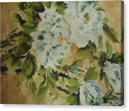 Flower -727-2 Canvas Print