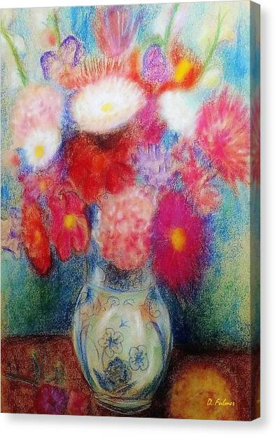Flower Arrangement Canvas Print