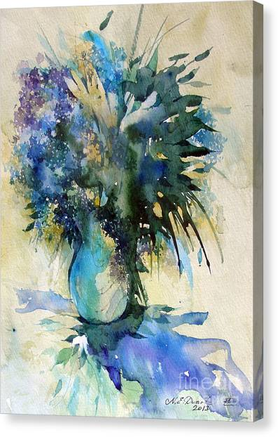 Canvas Print - Flower Bouqet by Natalia Eremeyeva Duarte