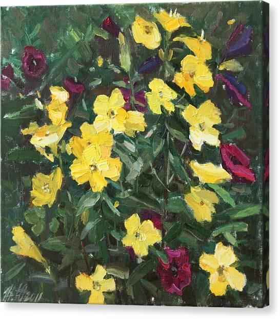 Flower Carpet Canvas Print