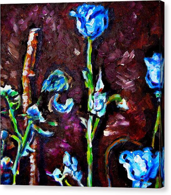 Flower Culture 197 Canvas Print by Laura Heggestad