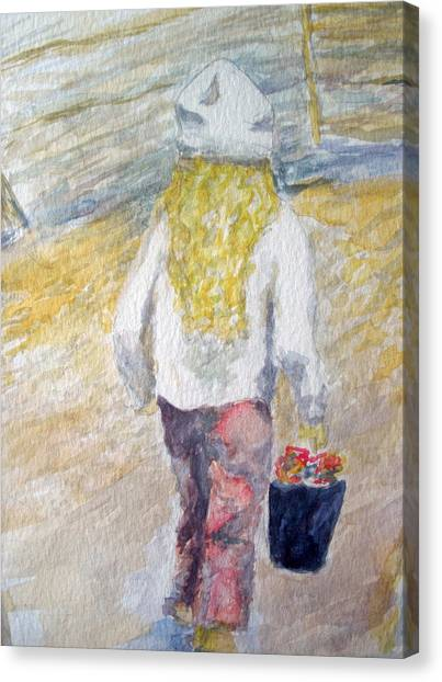 Flower Girl Canvas Print by Mike Segura
