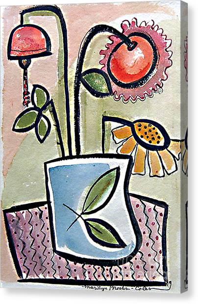 Flower Jug Canvas Print