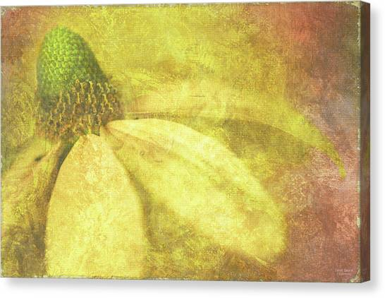 Yellow Butterfly Canvas Print - Flower Magnifico by JQ Licensing