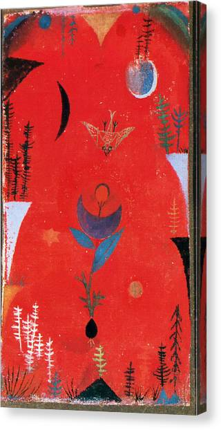 Flower Myth Canvas Print
