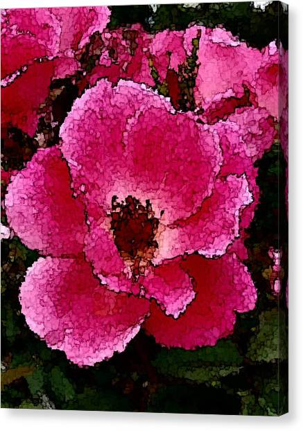 Flower Painting Collection 19 Canvas Print