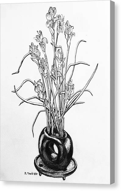 Canvas Print - Flower Pot by Rich Travis