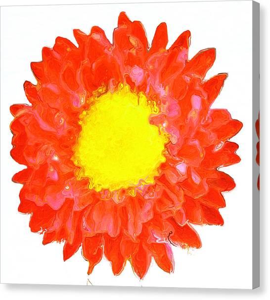 Canvas Print - Flower Power 313 by Modern Art