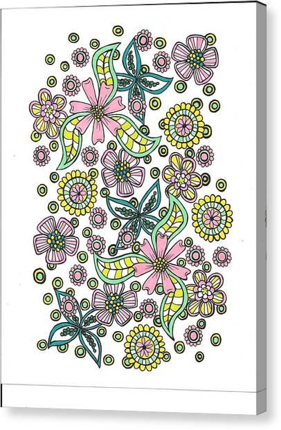 Flower Power 5 Canvas Print