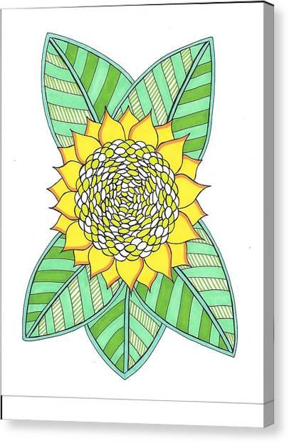 Flower Power 6 Canvas Print