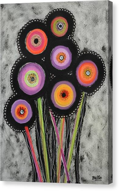 Flower Series 6 Canvas Print
