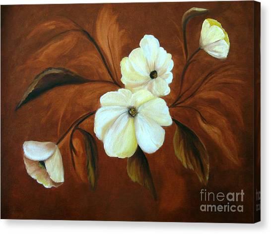 Flower Study Canvas Print