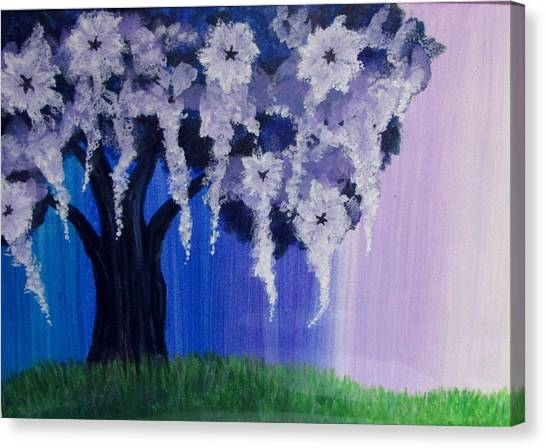 Canvas Print - Flower Tree  by Pamula Reeves-Barker