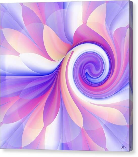 Flowering Pastel Canvas Print