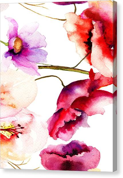 Flowers 02 Canvas Print