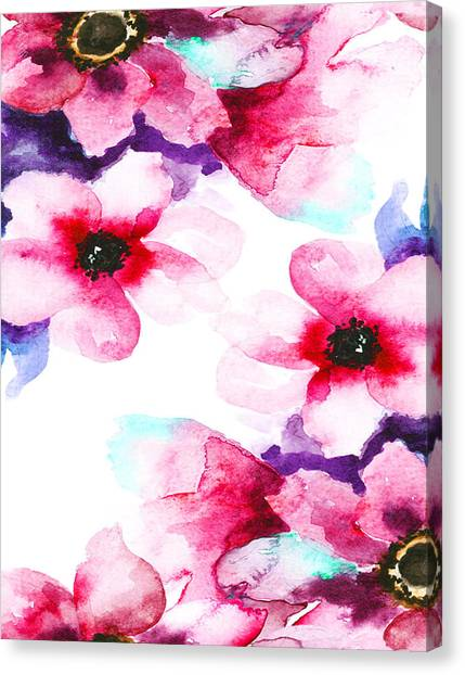 Flowers 04 Canvas Print