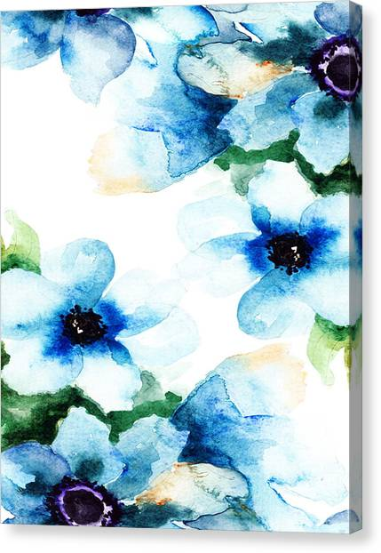 Flowers 06 Canvas Print
