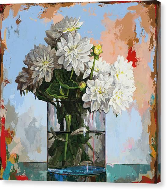 Flowers #11 Canvas Print