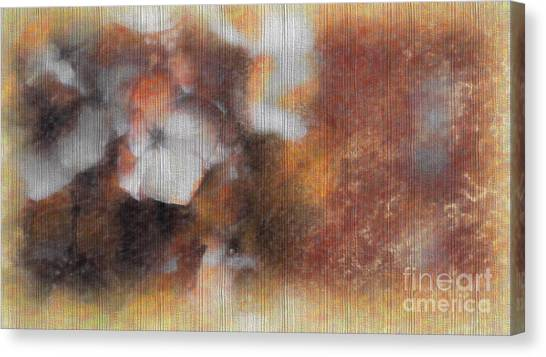 Flowers Abstract 1 Canvas Print