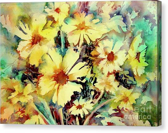 Flowers Are The Sweetest Things Canvas Print