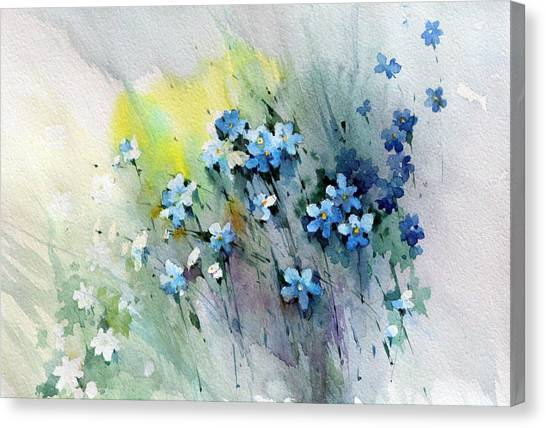 Canvas Print - Flowers Fantasy by Natalia Eremeyeva Duarte