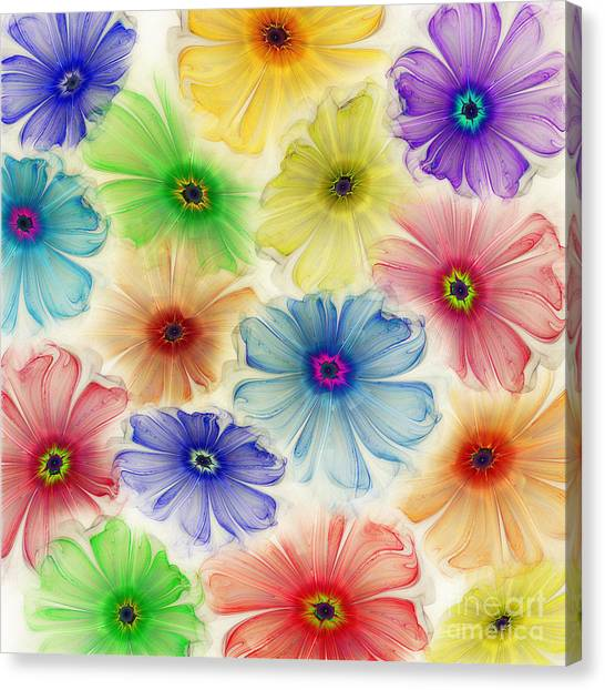 Flowers For Eternity Canvas Print