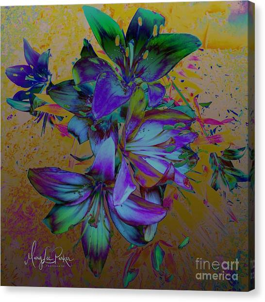 Flowers For The Heart Canvas Print
