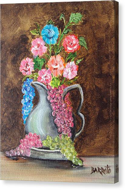 Flowers For You Canvas Print