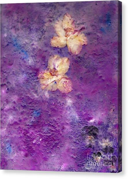 Flowers From The Garden Canvas Print