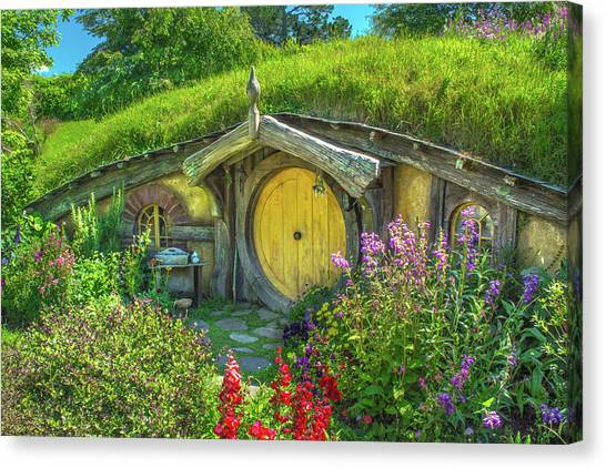 Flowers In The Shire Canvas Print